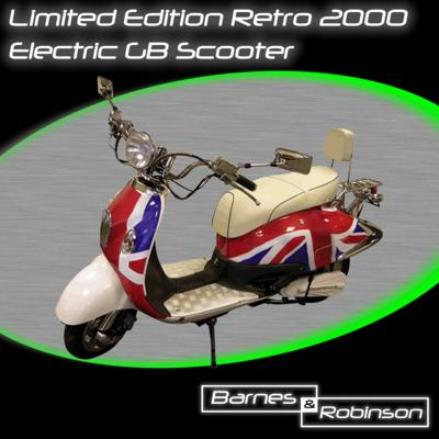Barnes and Robinson Limited Edition GB Electric Road Scooter