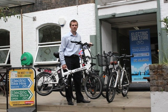 James Metcalfe, Electric Bike Store