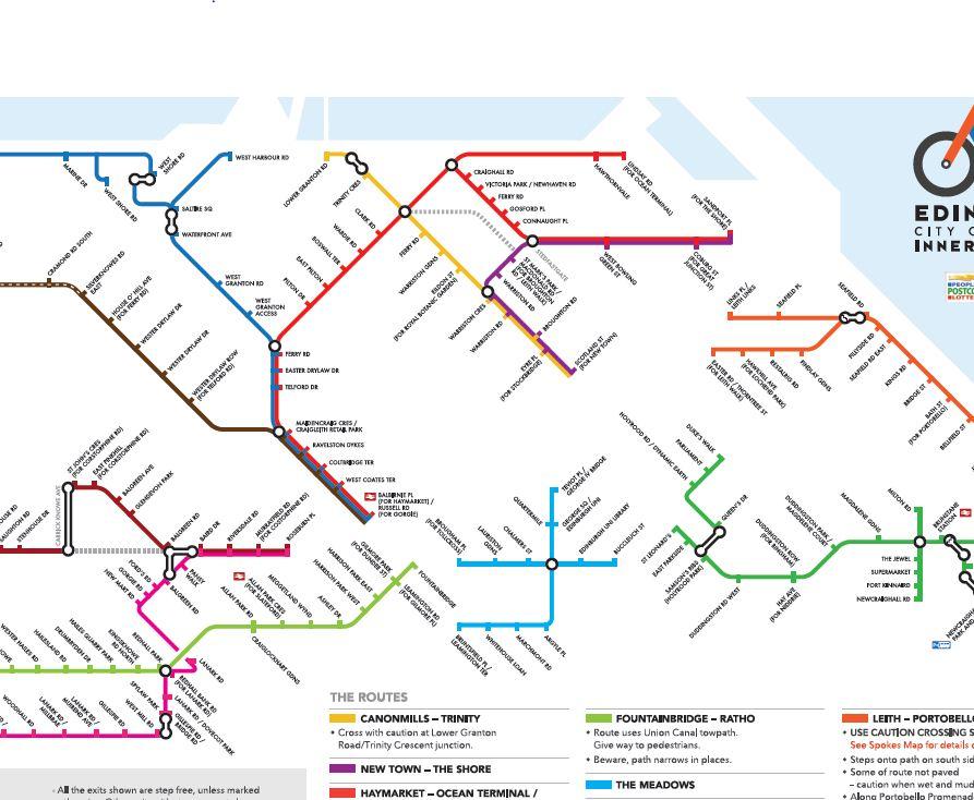 Map pdf edinburgh